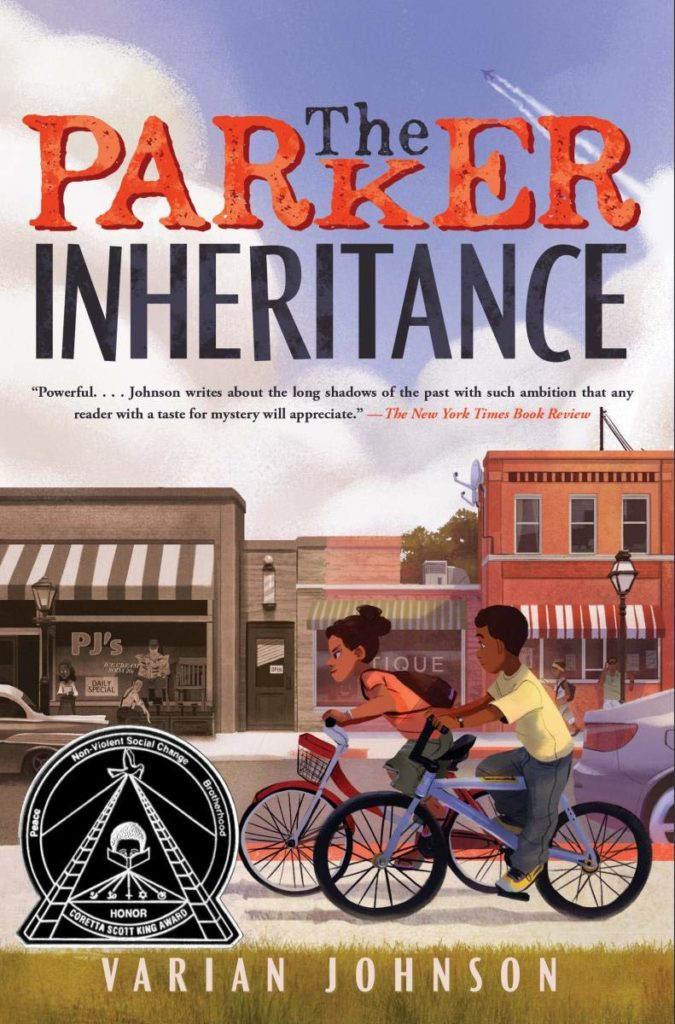 Book cover: The Parker Inheritance