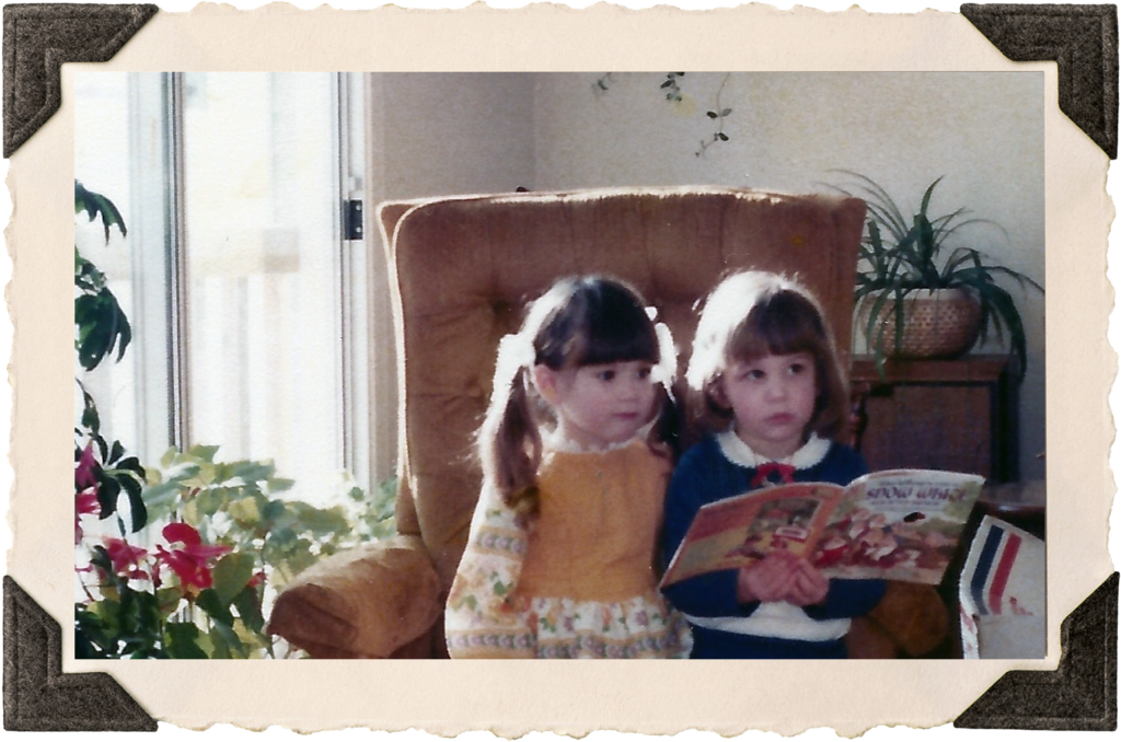 Young Stephani Reading