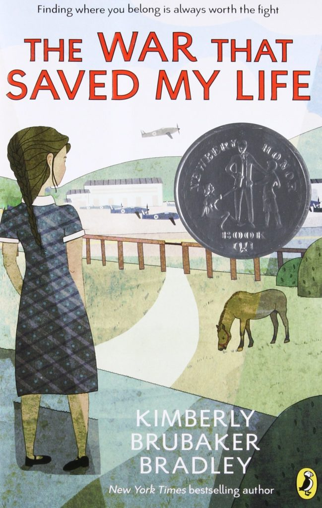 Book cover: The War that Saved my Life
