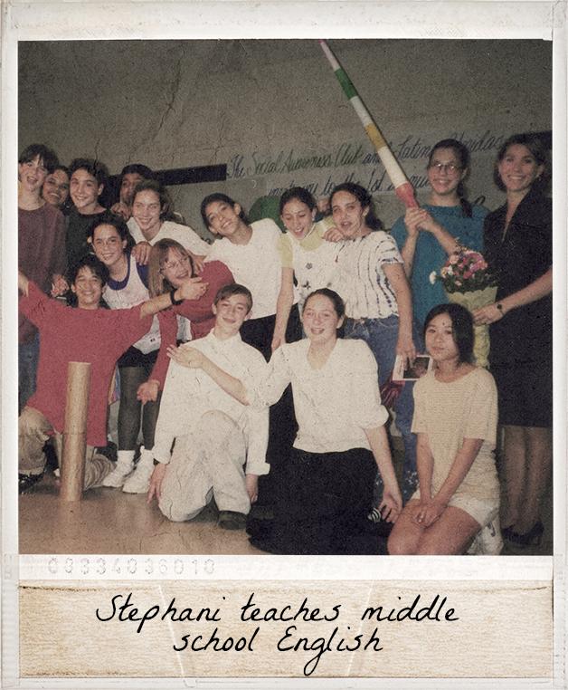 Stephani teaches middle school English