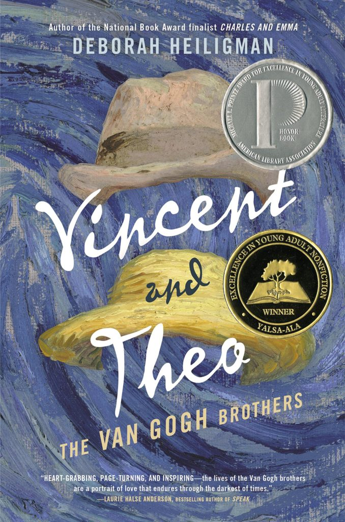 Book cover: Vincent and Theo