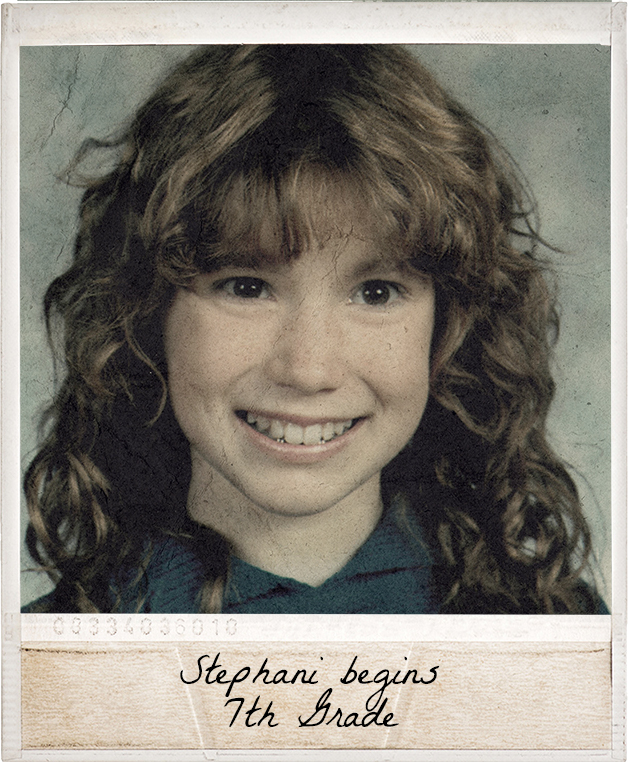 Stephani Begins 7th Grade